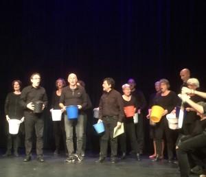 'King Arthur', muziektheaterproject met koorzangers